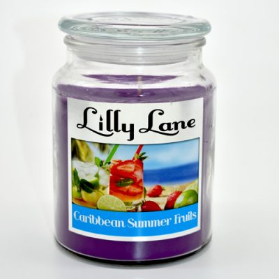 Lilly Lane Caribbean Summer Fruits Candle