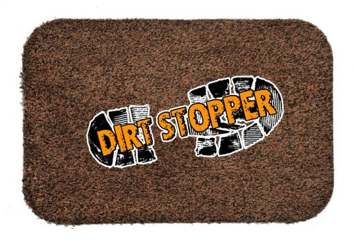 Jasper Dark Brown Dirt Stopper Door Mats