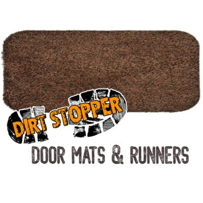 Jasper Dark Brown Runner Dirt Stopper