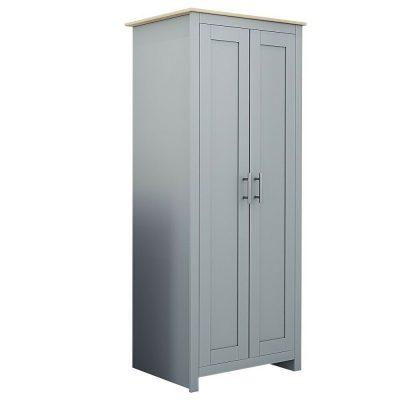 Westbury 2 Door Robe Grey