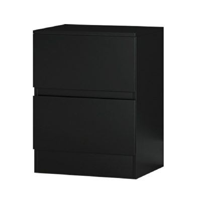 Carlton bedside matt black