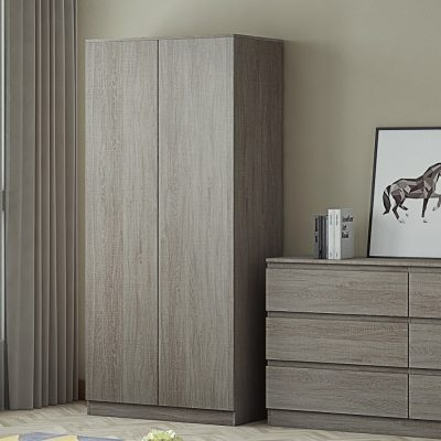 Carlton 2 Door Grey Oak