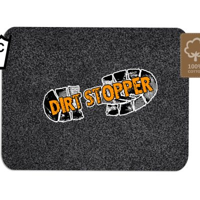 Dirt Stopper Barrier Door Mats Black
