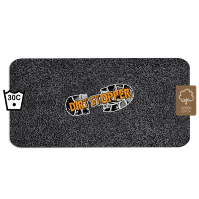 Dirt Stopper Barrier Door Runner Mat Black