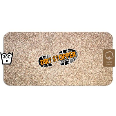Dirt Stopper Barrier Door Runner Mat Beige Moonshine