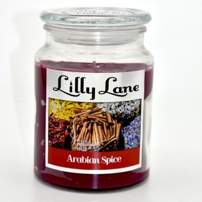 Lilly Lane Jar Candle Arabian Spice
