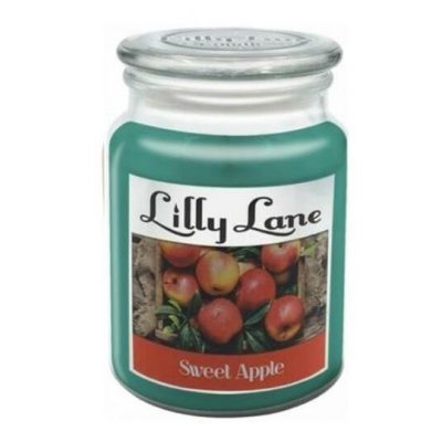 Lilly Lane Large Jar candle Sweet Apple