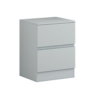 Carlton matt grey beside cabinet