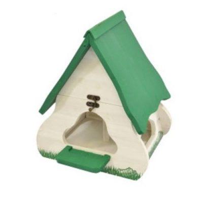 Tweetie Bird Feeder - White & Green